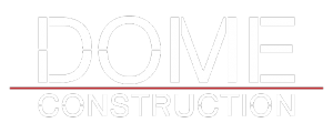 Logo Dome Construction blanc